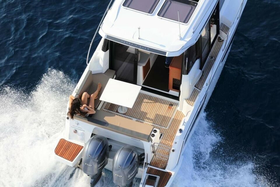 Jeanneau Merry Fisher 895 - 2 X 150 HK..., Motorbåd, årg.