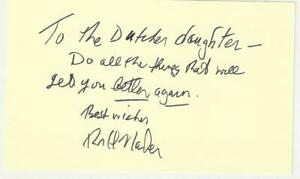 Ralph-Nader-Consumer-Advocate-Autograph-Note-Signed-COA