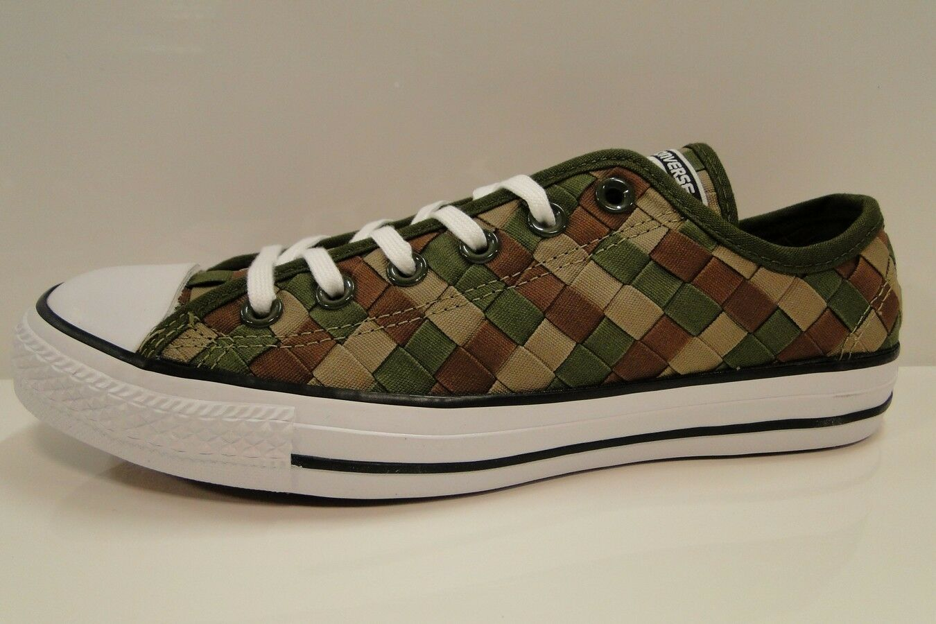 CONVERSE woven CT All Star OX woven CONVERSE 151242C HERBAL/KHAKI Unisex Trainers mens 7 wmns 9 4ce009