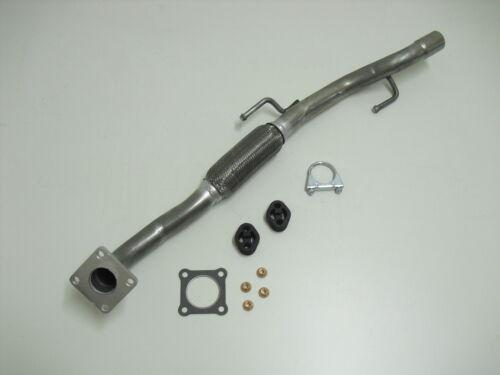 Auspuff Katalysator Reparaturrohr Skoda Fabia VW Polo 9N 1.4 Hosenrohr Rohr