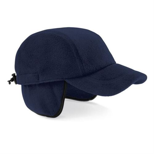 Polaire Chaud Noir ou Bleu Eiger Casquette Baseball avec Rabat Oreille
