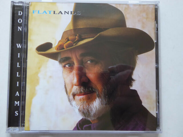 DON WILLIAMS <  Flatlands (Castle)  > NM (CD)