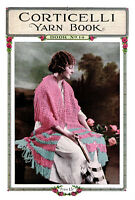 Corticelli 14 C.1920 Vintage Fashion Patterns Lessons In Knitting And Crochet