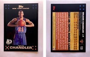 Wilson-Chandler-Signed-2007-08-Topps-133-Card-New-York-Knicks-Auto-Autograph