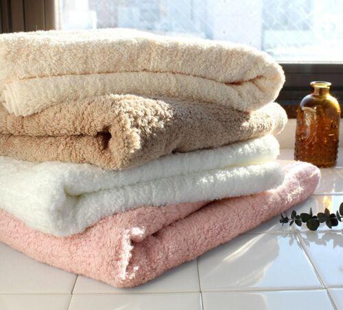 Hiorie Imabari Soft Water-Absorption Bath Towel 2 Sheets 100/% cotton  Japan