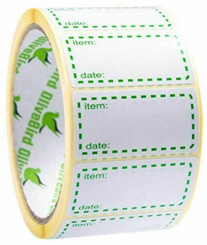 10 to 1500 Gefrieretiketten Kühletiketten Kühlschranketiketten Etiketten