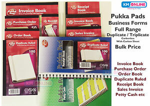pukka pad invoice sales invoice delivery purchase note book