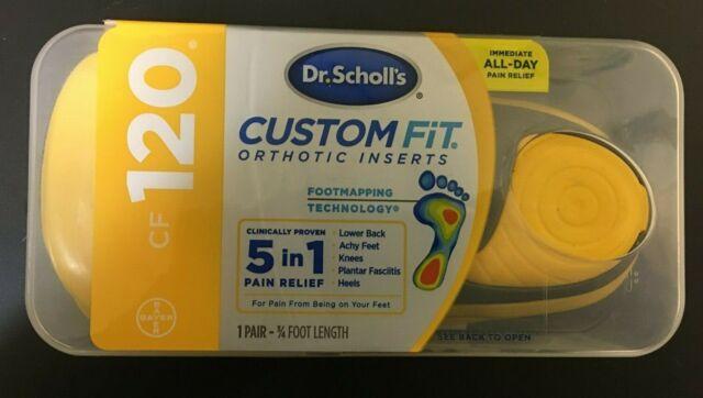 Dr. Scholl's CF120 Custom Fit Orthotic