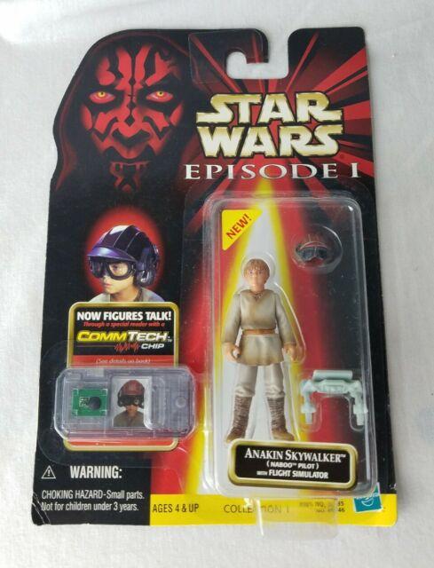 Star Wars Anakin Skywalker Naboo Pilot w/Flight Simulator 84246  Hasbro