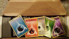 Pokemon Cards 100 Card Bulk Energy Lot RARE and Special Energy
