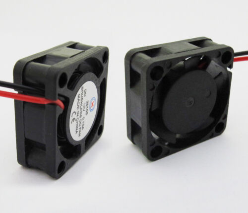 Brushless DC Cooling Fan 5 Blade 12V 0.1A 25 x 25 x 10mm 2pin 2510