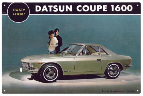 DATSUN  COUPE  1600  CAR TIN SIGN 20 x 30 cm