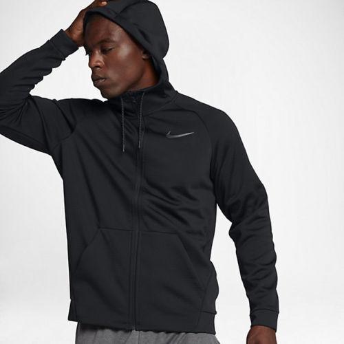 Sphäre Therma Nike Herren Trainieren Schwarz Grau S JACKE