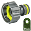 Tuyau-Embrayage-Reparator-Tuyau-Connecteur-hahnanschlus-1-2-034-3-4-034-1-034-Bradas miniature 9