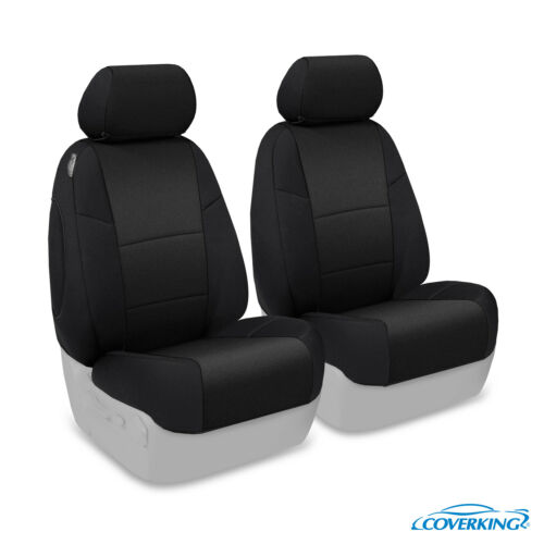 Coverking Neosupreme Front Custom Car Seat Cover For Ford 17-18 F-350 Super Duty