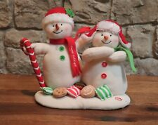 Cookies Hallmark Jingle Pals Animated Singing Mr /& Mrs Snowman w//Candy