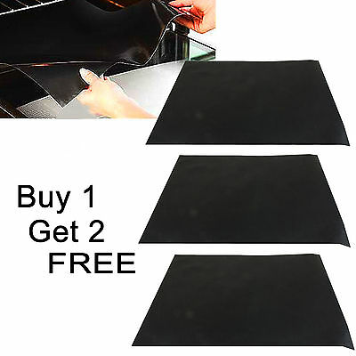 40cm x 50cm Heavy Duty Reusable Non Stick Oven Cooker Liners - Buy 1 Get 2 FREE