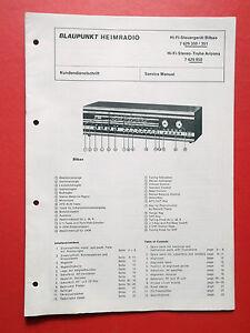 Blaupunkt-Heimradio-orig-Service-Manual-Anleitung-Bilbao-Stereo-Truhe-Arizona