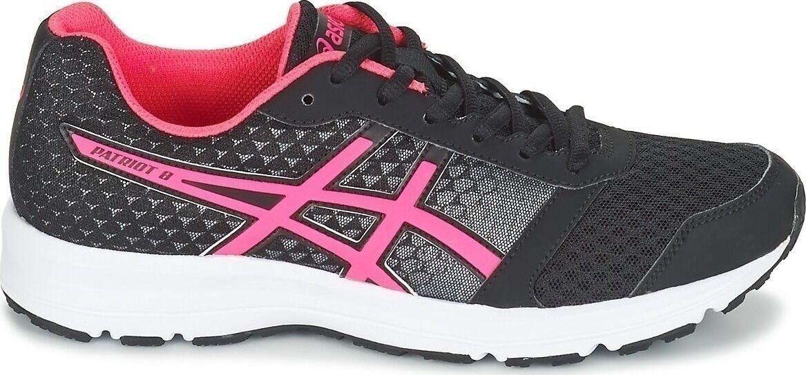 Asics Patriot 8 women Running shoes Scarpa Nera pink Corsa su Strada T669N