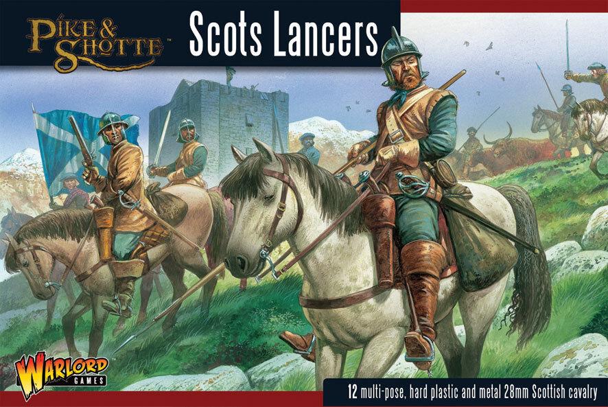 SCOTS LANCERS- PIKE & SHOTTE - WARLORD GAMES - SENT FIRST CLASS - BNIB