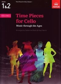 Strings Instruction Books, Cds & Video Painstaking Time Pieces For Cello Vol 1 Black/harris* Evident Effect