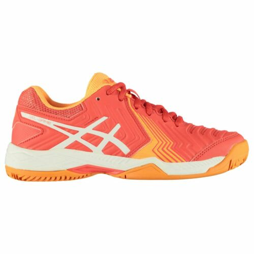 Asics Womens Ladies Game 6 Clay Tennis Shoes Lace Up Low Top Trainers