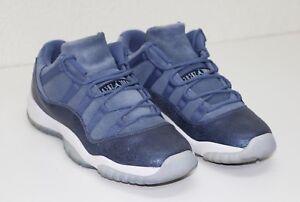 f488aa0718770a Air Jordan 11 Retro Low Blue Moon Youth Size 7.5Y 580521 408