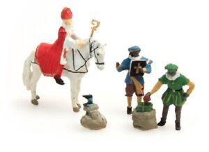 Artitec-387-41-Sinterklaas-und-Schwarzer-Peter-H0-1-87-Resin-bemalt-Figuren