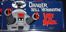 Lost in Space - B9 Robot License Plate Car Tag - B-9