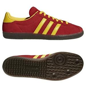 ADIDAS-ORIGINALS-SPZL-Spiritus-Baskets-Jaune-Rouge-Baskets-Chaussures-Casuals-Retro