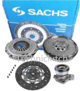 Saab-9-3-1-9-TiD-150-BHP-F40-Clutch-Kit-avec-le-SCC-et-SACHS-Dual-Mass-Flywheel