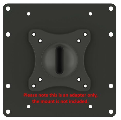 Universal VESA Conversion Adapter Plate for Wall Mounts to extend up to 8 x 8/""
