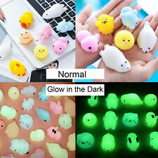 25~50 Squishy Lot Normal / Glow-in-the-darkf Rising Fidget Cute Animal Hand Toy