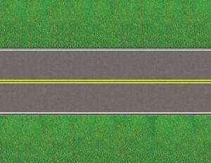 HO-Scale-Roads-Model-Train-Scenery-Sheets-No-Passing-Yellow-Rural-Five-8-5x11