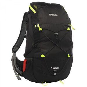 Regatta-Erwachsenen-Trekking-Wander-Rucksack-BLACKFELL-35L-schwarz