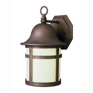 Details About Bell Air Lighting Cap 2 Light Outdoor Weathered Bronze Coach Lantern