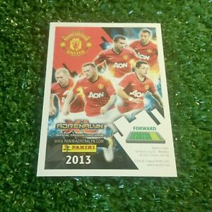 12 13 Man Utd Base Icon Card Panini 2012 2013 Adrenalyn Manchester United Ebay