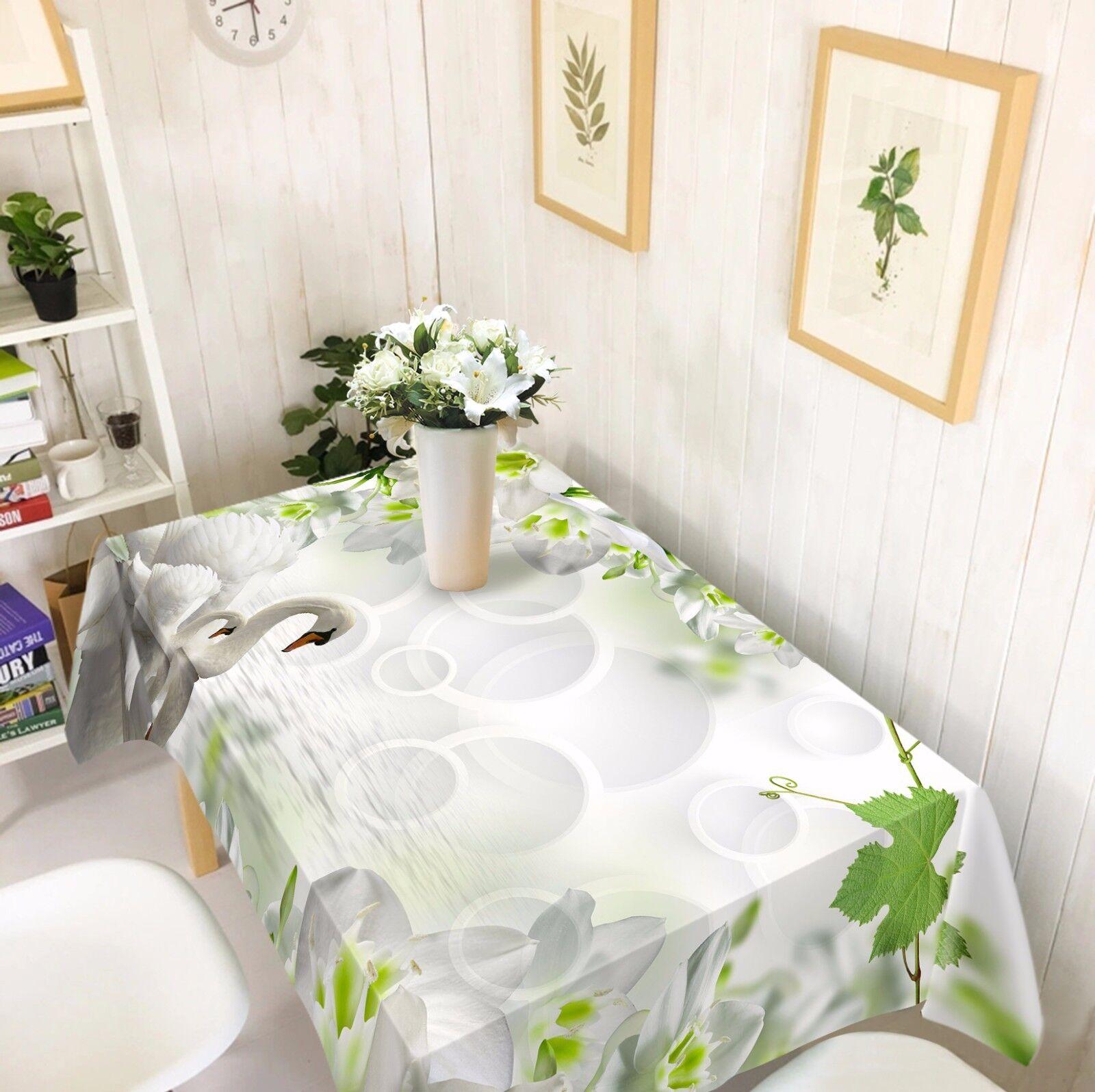 3D Sawn blanco Tablecloth Table Cover Cloth Birthday Party AJ WALLPAPER Lemon