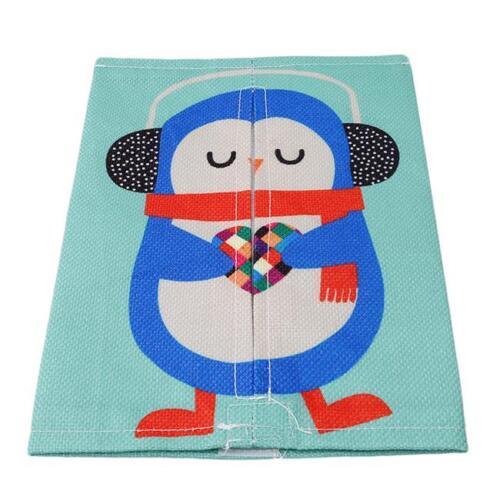 Animal Cartoon Tissue Box Napkin Cover Paper Holder Handkerchief Decor Q