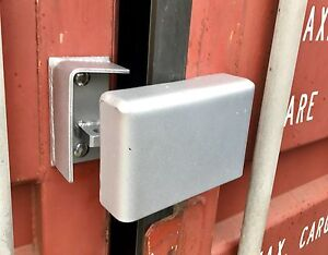 Details about Bolt On Cargo Container Security Lock Box W/ Free  Padlock,Bolts & Free Shipping