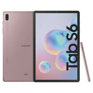 Samsung-Galaxy-Tab-S6-10-5-Zoll-Wifi-Tablet-128GB-SM-T860-Haendler-Neu-Rose-Blush