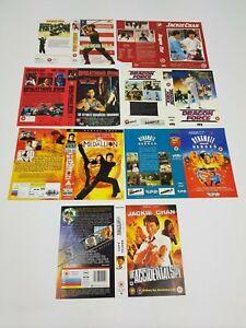 Grande-Caja-VHS-Video-Fundas-sin-Usar-Muestra-Promo-Paquete-Lote-Asia-Kung-Fu-1
