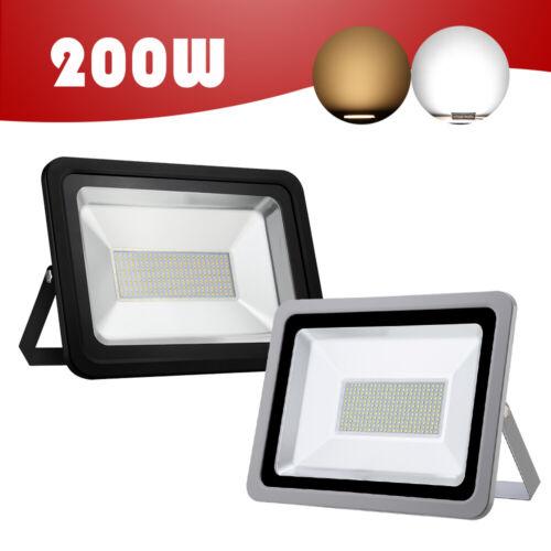 LED Floodlight Motion Sensor PIR 20//50//100W Security Garden Outdoor Flood Lights