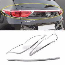 Chrome Silver Rear Light Lamp Cover Molding Garnish 5Pcs for KIA 17-18 Sportage