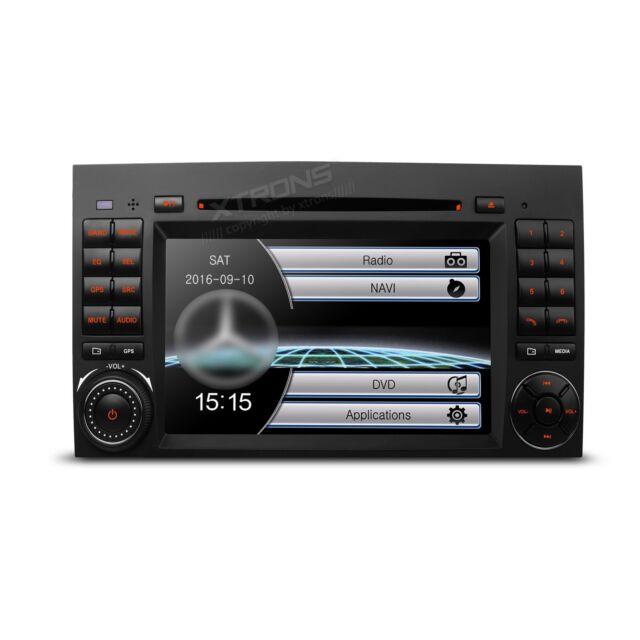 "AUTORADIO 7"" Mercedes Classe A B Viano Vito Navigatore Gps Dvd Usb Sd Canbus"