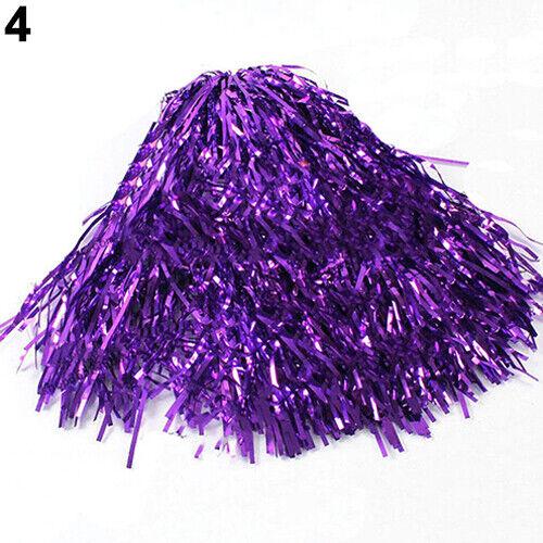 1 Pcs Girls Cheerleader Pom Poms Cheerleading Cheer Dance Party Club Team Decor