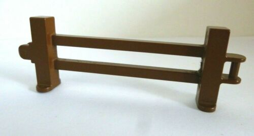 Duplo Zaun für Garten gebraucht. 1 x LEGO® 3967 City,braune Zäune