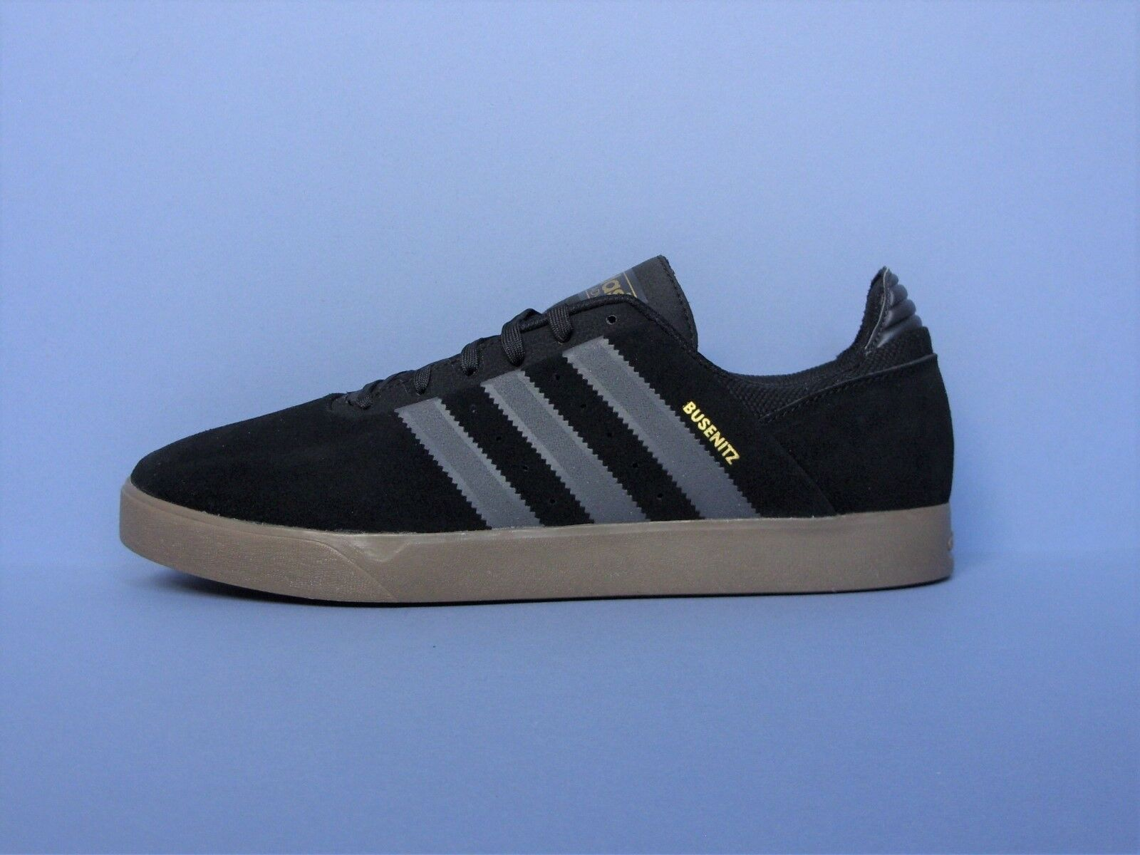 the best attitude be1e5 73589 ADIDAS BUSENITZ ADV MENS TRAINERS SKATE SKATE SKATE SHOES BLACK SUEDE UK  SIZE 10 10d404
