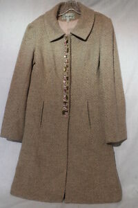 Decor Brown Pink Bowley sparkle Beth Stone W 23 Womens uldjakke Størrelse 8 5YqFSCwnS