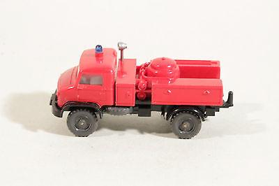 1051/2 Wiking Polvere Autopompa Unimog 1964 - 1974/rosso-rzeug Unimog 1964 - 1974 / Rot It-it Mostra Il Titolo Originale Rapida Dissipazione Del Calore